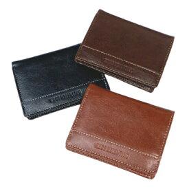 財布 メンズ ブランド 二つ折り 二つ折り財布 コンパクト コンパクト財布 コインケース 小銭入れあり うすい財布 薄い財布 ウォーレット ヒューゴバレンチノ クロ ブラウン ダークブラウン ダーブラ 送料無料 HV1202