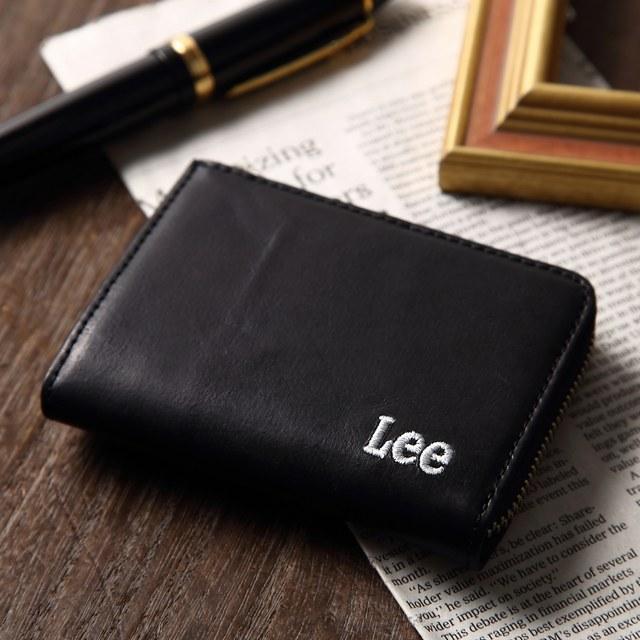 コインケース ブランド ラウンドファスナー コインケースあり メンズ財布 二つ折り 財布メンズ 小銭入れあり メンズ財布革 Lee財布 lee 財布 リー財布 Lee革財布 Lee二つ折り財布 小銭入れ