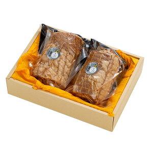 鈴畜中央ミ−ト うつくしまエゴマ豚 焼豚 (400g×2) 福島県産