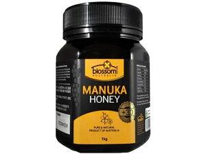 送料無料 ブロッサムヘルス マヌカハニー+30 1kg MGO30 はちみつ ハチミツ 蜂蜜