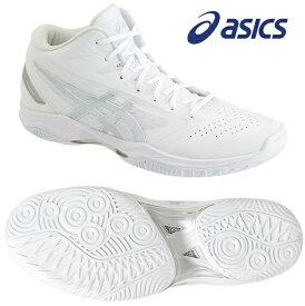 アシックス(asics) GELフープ V11-STANDARD 男女兼用 バスケットボールシューズ ホワイト×シルバー 1061A015-119
