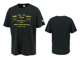 コンバース converse バスケットボール tシャツ メンズ レディース プリントTシャツ CB211358-1900 ブラック