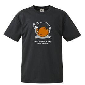 basketball junky バスケットボールジャンキー バスケットボール 半袖 tシャツ メンズ レディース ドライTシャツ 秒で+3 BSK21019 ブラック