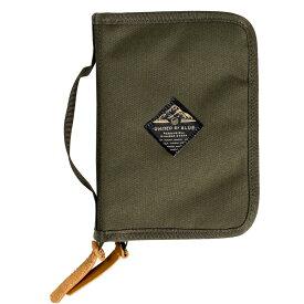 公式 ユナイテッドバイブルー バッグ United By Blue Peaks Zip Case Olive ジップケース カードホルダー 小分け 収納 ケース パスポート トラベルケース ペンホルダー 男女 ユニセックス メンズ レディース デイリー 撥水加工 軽量 オリーブ
