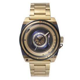 公式タックス 腕時計 TACS AVLII VINTAGE LENS AUTOMATIC II 数量限定100本 ヴィンテージレンズ オートマチック2 TS1803JP 自動巻き 機械式時計 メンズ ホーウィン社製 HORWEEN レザーベルト ステンレススチールケース 日本製ムーブメント ビンテージレンズ 父の日