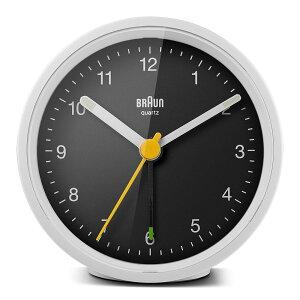 ブラウン 置き時計 BRAUN Classic Analog Alarm Clock BC12WB アラーム クロック 卓上 目覚まし時計