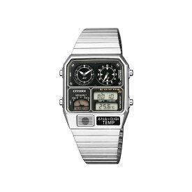 シチズン 腕時計 CITIZEN ANA-DIGI TEMP アナデジ テンプ 復刻モデル JG2101-78E シルバー デジタルウォッチ アナログウォッチ 時計
