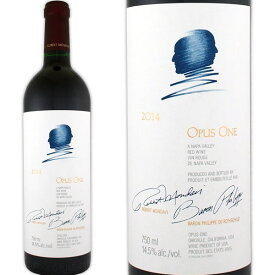 オーパス・ワン 2014【アメリカ】【赤ワイン】【750ml】【フルボディ】【辛口】【パーカー96点】【Opus One】
