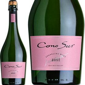 ロゼスパークリングワイン コノスル・スパークリング・ロゼ・ピノ・ノワール【チリ】【ロゼスパークリングワイン】【750ml】【辛口】【93点】【Cono Sur】