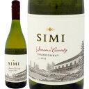 シミ・ソノマ・カウンティ・シャルドネ 2018【白ワイン】【カリフォルニア】【ソノマ】【Simi】【超特価】【在庫処分】