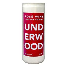 アンダーウッド・オレゴン・ロゼ(250ml缶入り)【アメリカ】【ロゼワイン】【250ml】【Underwood】【Oregon】 お中元 お歳暮 御中元 御中元ギフト 中元 中元ギフト お酒
