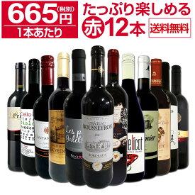 【送料無料】第11弾!1本あたり665円(税別)!!採算度外視の大感謝!厳選赤ワイン12本セットワイン ワインセット セット 赤ワインセット 赤ワイン 赤 飲み比べ ギフト プレゼント 750ml