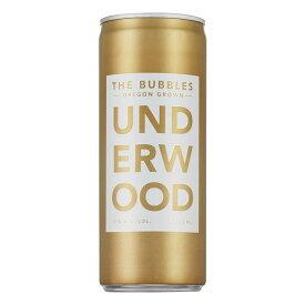アンダーウッド・ザ・バブルス(250ml缶入り)【アメリカ】【白スパークリングワイン】【250ml】【Underwood】【Oregon】