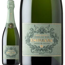 エミリアーナ・オーガニック・スパークリング・ブリュット【チリ】【スパークリングワイン】【750ml】【辛口】【Emiliana】