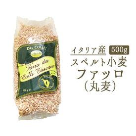丸麦 (ファッロ) スペルト小麦 <イタリア産>【500g】【常温品】【常温/冷蔵混載可】