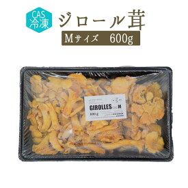 【CAS冷凍】 ジロール茸 アンズダケ <フランス産> 【Mサイズ 600g】【冷凍品】