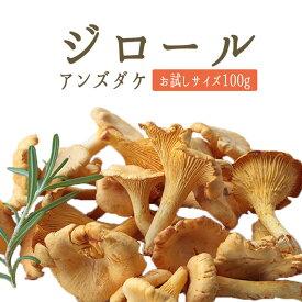 ◆ジロール ジロール茸 (アンズダケ アンズ茸)フレッシュ girolles <ヨーロッパ産>【お試しサイズ 100g】【冷蔵品】