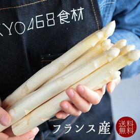 【送料無料】フレッシュ ホワイトアスパラ  白アスパラ アスパラ  <フランス産> 【5kg】