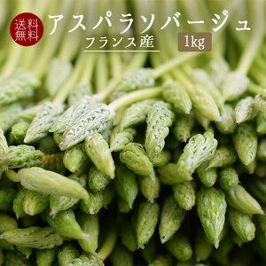 【送料無料】アスパラソバージュ アスペルジュ ソバージュ アスパラ <フランス産> 【1kg】【冷蔵品】