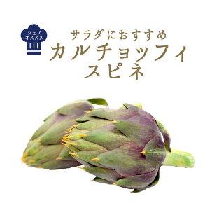 イタリア野菜 カルチョッフィ スピネ(アーティーチョーク)【1個=約150-250g】【¥490/100g再計算】<イタリア産>【冷蔵品】(大きさは季節や天候によって前後する可能性がございます