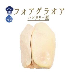 【フレッシュ 冷蔵】 フォアグラ オア(ガチョウ)foie gras oie <ハンガリー>【700g-1kg】
