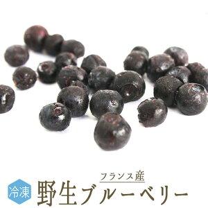 【冷凍】天然 ブルーベリー (ワイルドブルーベリー) <フランス産>【250g】【冷蔵/常温品との同梱不可】