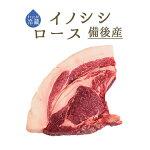 【フレッシュ冷蔵】イノシシ(猪肉)骨付きロース<国産備後>【約300-500g】【\960/100g再計算】【冷蔵品】【冷蔵品】