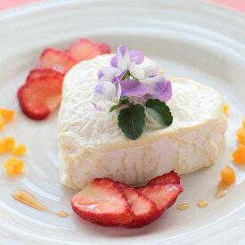 ■先行販売・バレンタイン限定■ハート形チーズ ヌーシャテル クール A.O.P. (白カビチーズ)<フランス産>【200g】ドライフルーツおまけ付き