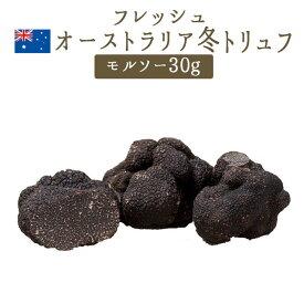 【季節限定】フレッシュ 黒トリュフ 冬トリュフ )<お徳用 モルソー> 【30g】 <オーストラリア産> 【冷蔵品】