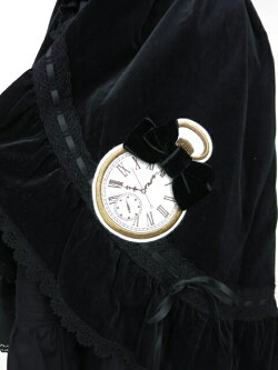 【中古】ALICEandthePIRATES/別珍リボンクロックジャンパースカートアリスアンドザパイレーツB11842_1806