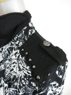 【中古】SEXPOT/ローズ柄VARIOUS2WAYシャツセックスポットB14605_1809