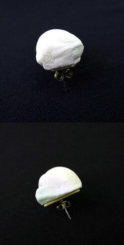【中古】Q-pot./マシュマロピアスキューポットB15247_1810