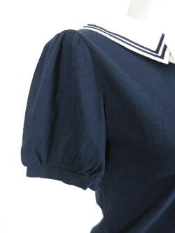 JaneMarple/セーラー衿付き半袖カットソージェーンマープルB15808_1811