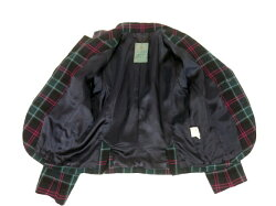 【中古】JaneMarple/タータンチェックジャケットジェーンマープルB17845_1901