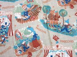 【中古】JaneMarple/ピノキオ柄ストールジェーンマープルB17849_1901