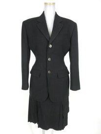 【中古】Jean Paul GAULTIER FEMME / ジャガード織りジャケット&スカート セットアップ ジャンポールゴルチエフェム スーツ B17944_2009