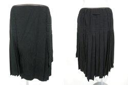 【中古】JeanPaulGAULTIERFEMME/ジャガード織りジャケット&スカートセットアップジャンポールゴルチエフェムスーツB17944_1901