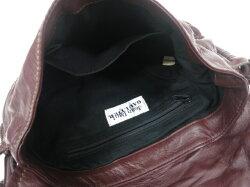 【中古】JeanPaulGAULTIER/刺繍入りレザーハンドバッグジャンポールゴルチエB17945_1901