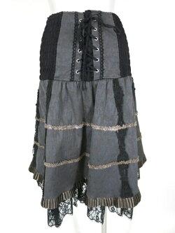 【中古】OZZANGELO/ジャガード2wayスカートオッズオンオッズアンジェロOzzOnB19574_1903