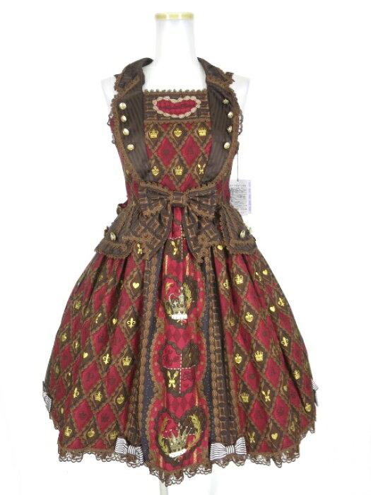 Angelic Pretty / Queen Chocolateジャンパースカート アンジェリックプリティ B20577_1912