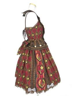 AngelicPretty/QueenChocolateジャンパースカートアンジェリックプリティB20577_1903