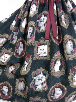 【中古】EnchantlicEnchantilly/猫の王女様の肖像画ジャンパースカートアンシャンテリックアンシャンテリーB21443_1905
