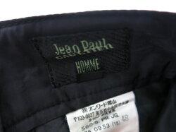 【中古】JeanPaulGAULTIERHOMME/サイドジップ付き中綿入りパンツジャンポールゴルチエオムメンズB21098_1905