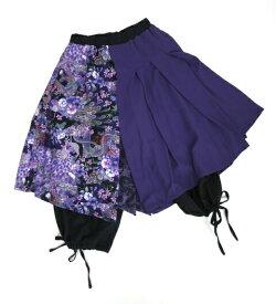 QutieFrash/オーバースカート付きワイドパンツキューティーフラッシュB22324_1906