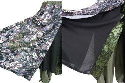 QutieFrash/オーバースカート付きワイドパンツキューティーフラッシュB22326_1906