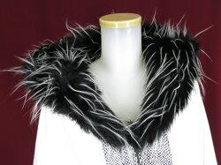 【中古】QutieFrash/ファー付き着物袖ロングコートキューティーフラッシュB22426_1906