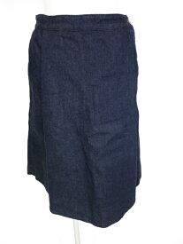 【中古】Vivienne Westwood RED LABEL / オーブ刺繍デニムスカートパンツ ヴィヴィアンウエストウッドレッドレーベル キュロット スカパン ハーフパンツ B23030_1906