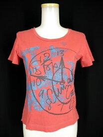 【中古】Vivienne Westwood RED LABEL CHOICE / クロックプリントTシャツ ヴィヴィアンウエストウッド レッドレーベル チョイス レディース B23031_1906