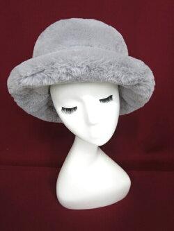 【中古】JaneMarple/フェイクファーハットジェーンマープル帽子B23347_1907