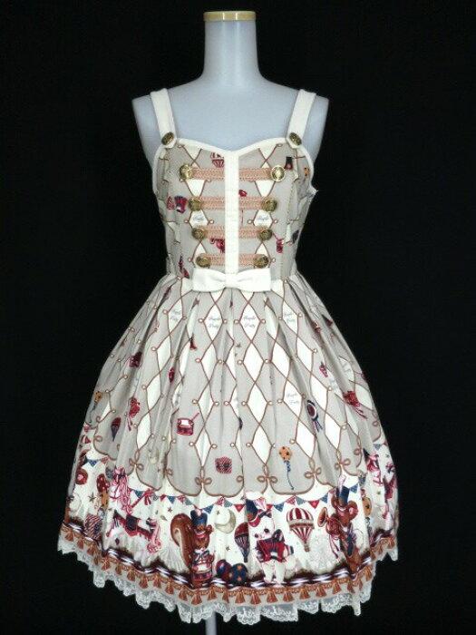 【中古】Angelic Pretty / TOY MARCHジャンパースカート アンジェリックプリティ トイマーチ B24798_1907
